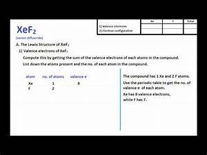 XeF2 Lewis Structure + Molecular Geometry - YouTube