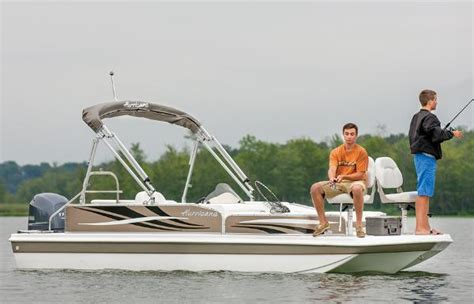 Fun Deck Boats For Sale by Hurricane Fundeck 198 Boats For Sale Boats