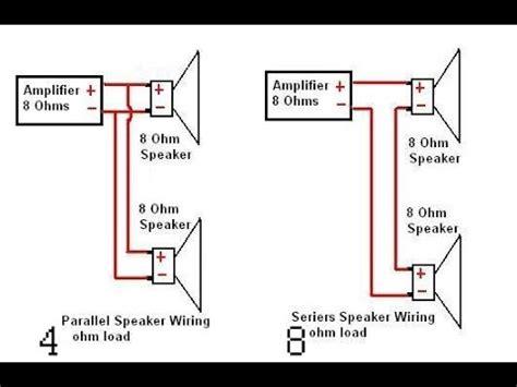 Converting Amplifiers Series Speakers Parallel