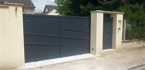 Installateur De Portail Motorisé : portail et portillon en aluminium ty braz ~ Farleysfitness.com Idées de Décoration