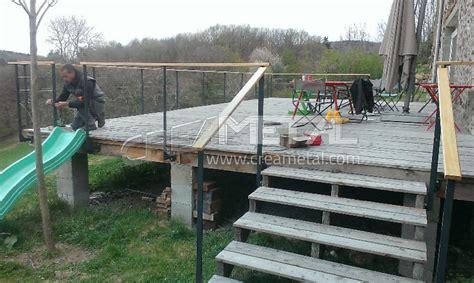 garde corps pour terrasse exterieur fabricant etude r 233 alisation sur mesure et installation de garde corps de terrasse ext 233 rieur en