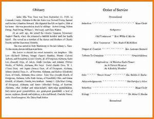 best obituary templates With obituaries examples templates