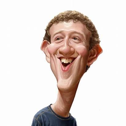 Zuckerberg Mark Transparent Bill Gates Caricature Celebrity