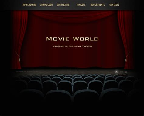 theatre dynamic video gallery admin flash template