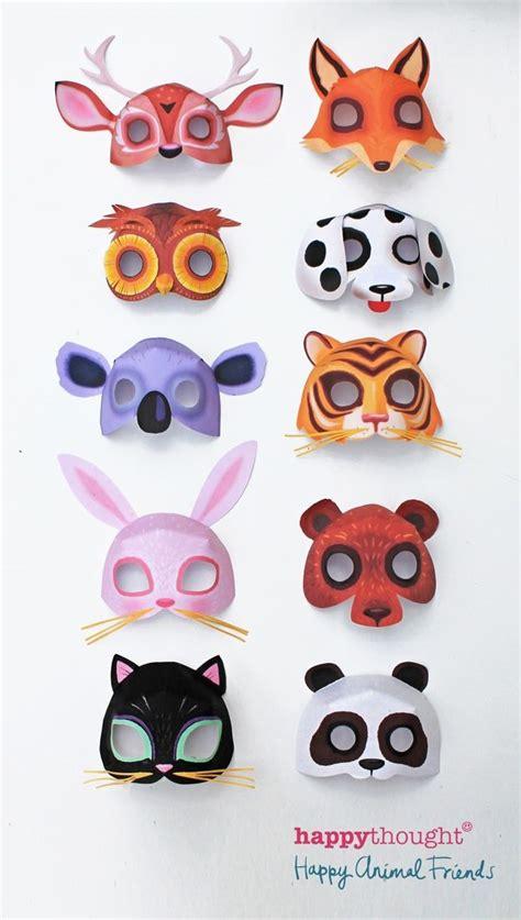 instant  printable animal masks  mask