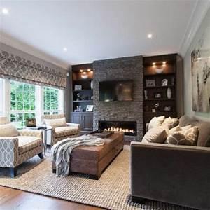 Wohnzimmer Design Ideen : ein wohnzimmer in braun wirkt einladend und wohnlich ~ Orissabook.com Haus und Dekorationen