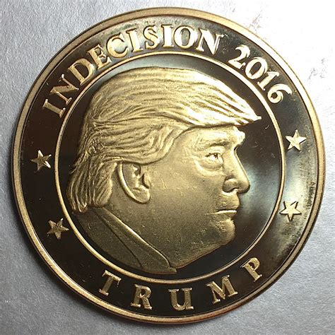 trump coin flip collectors coinsblog ws indecision
