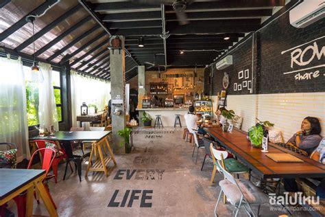 Row House Cafe Hua Hin ตึกแถวเก่าที่กลายมาเป็นจุดพักของคน