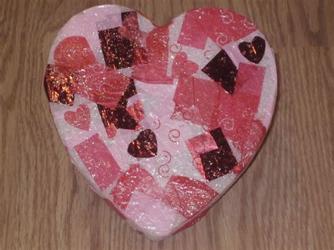 preschool crafts for s day stand up 637 | Heart Deco Standing Photo Frame 002