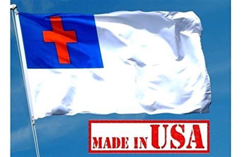 Christian Garden Flags by Us Flag Factory 3 X5 Christian Flag Sewn Cross 100