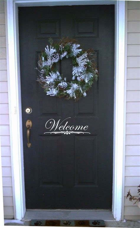 welcome signs for door 1000 images about cricut removable vinyl project ideas on