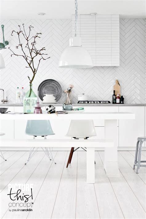 white herringbone backsplash kitchen backsplashes dazzle with their herringbone designs