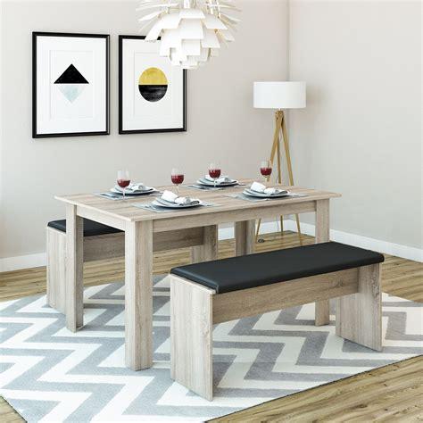 Sitzgruppe Esszimmer by Tischgruppe Eiche Sonoma 140 X 90 Cm 4 Bis 6 Real