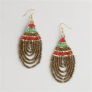Seed Bead Earring Patterns