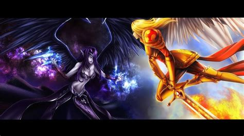 League Of Legends Kayle And Morgana Bot Lane Montage