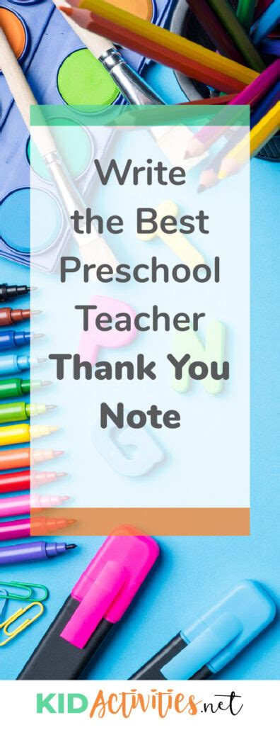 write a thank you note to preschool plus thank 856 | write the best preschool teacher thank you note 396x1030