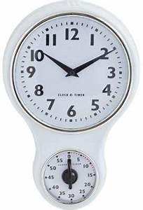 Horloge Murale Blanche : catgorie horloges pendule et comtoise page 1 du guide et ~ Teatrodelosmanantiales.com Idées de Décoration