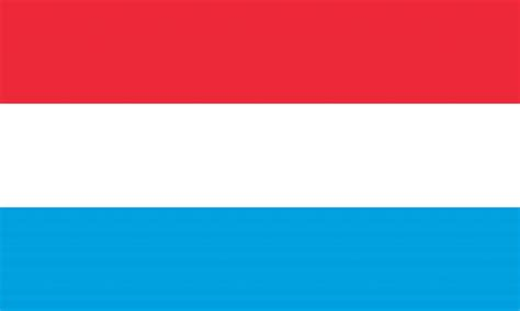 flagge von luxemburg vektor country flags