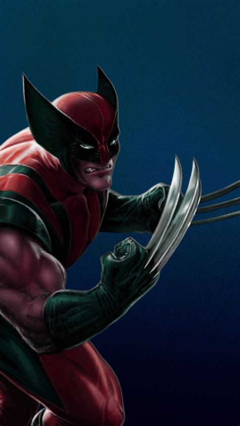 Hd Wallpaper For Mobile Marvel by Wolverine 1080 X 1920 Wallpapers