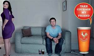 'Take Courage' beer ad banned | Media | The Guardian