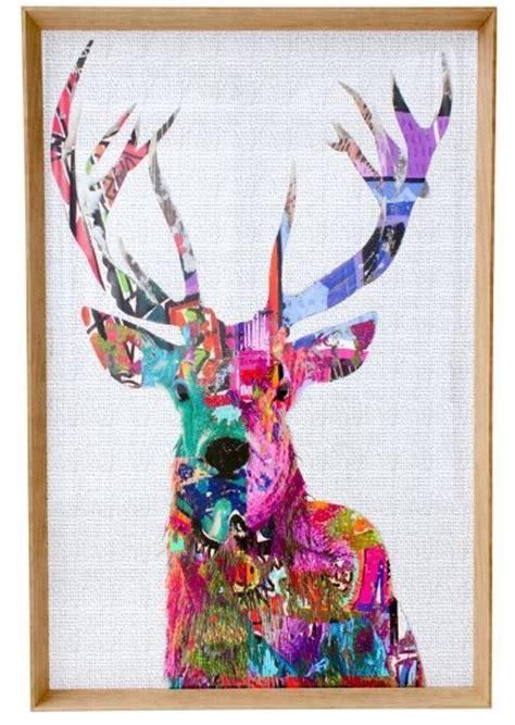 dandy deer elite pink framed print wall art pinterest