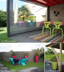 5 conseils pour une terrasse de jardin moderne et pop With photo de terrasse moderne