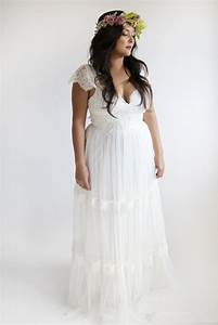 garden wedding dresses plus size bohemian wedding dresses With plus size bohemian wedding dresses