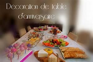 Deco Table Anniversaire 60 Ans : d coration de table anniversaire ~ Dallasstarsshop.com Idées de Décoration