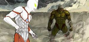 Ultraman and Armored titan | Anime | Pinterest