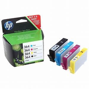 Set of 4 Original Genuine HP 364 Ink Cartridges For ...
