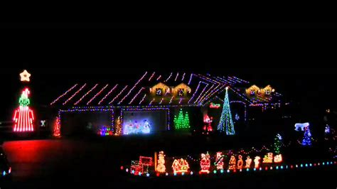 2011 musical christmas light show to grinch youtube