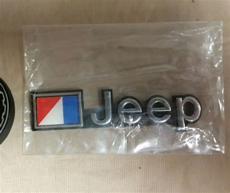 amc jeep emblem purchase nos amc jeep emblem wagoneer jeep fsj nos jeep cj