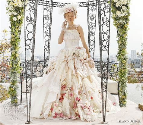 romantic pink wedding dresses bestbride