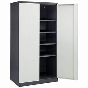 Armoire D Atelier : armoire d 39 atelier portes battantes ~ Teatrodelosmanantiales.com Idées de Décoration