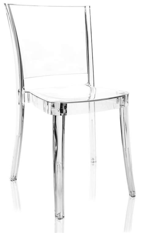 sedie in policarbonato trasparente sedia trasparente policarbonato lucienne neutro 2 176 scelta