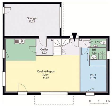 plan de maison moderne plain pied 4 chambres maison 2 dé du plan de maison 2 faire
