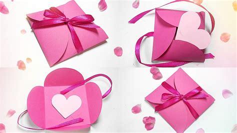 paper gift box love diy tutorial making easy ideas