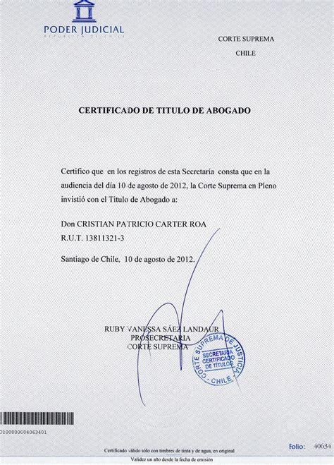 certificado titulo abogado cristian carter 1 CRISTIAN
