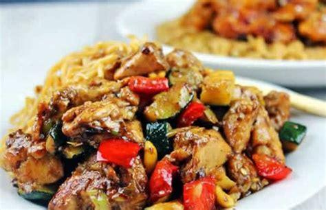 poulet courgettes poivrons recette cookeo recettes