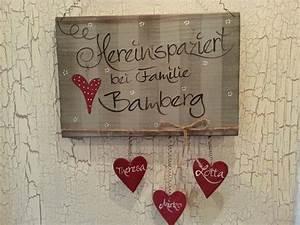 Türschild Familie Holz : t rschild f r wohnungen haus t rschilder von kido shop24 ~ Lizthompson.info Haus und Dekorationen