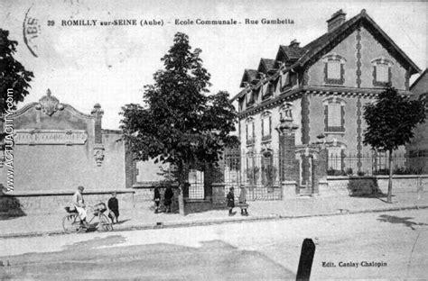 Cartes Postales Anciennes De Romillysurseine (10100