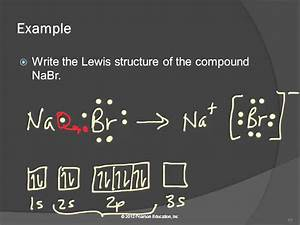 20 10 3 Lewis Structures For Ionic Compounds  Electrons Transferred