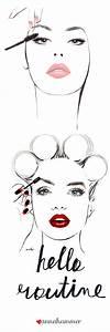 Fashion Illustration | Makeup Drawing | Fashion ...