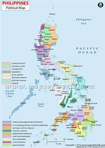 Philippines Map | Maps | Pinterest