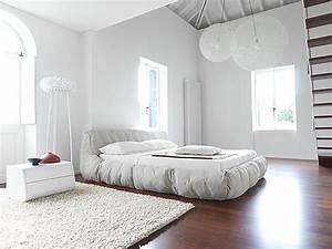 deco chambre adulte blanche With exemple deco chambre adulte