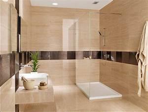 Badezimmer Ohne Fliesen : badezimmer fliesen ideen erstellen sie eine komfortable und stilvolle badezimmer dekoration ~ Markanthonyermac.com Haus und Dekorationen