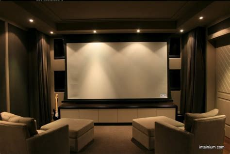 Houzz Living Room Lighting by Intainium Home Cinemas Home Theater Toronto By
