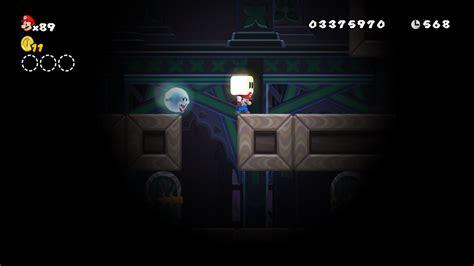 World 5 Ghost House New Super Mario Bros Wii Super