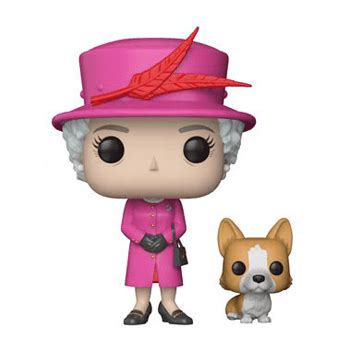 figurine pop reine elizabeth ii famille royale pop