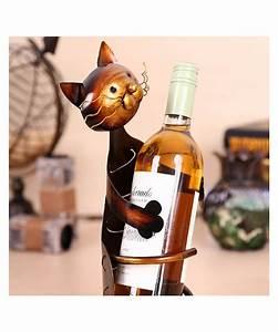 Porte Bouteille Vin Original : gueule d 39 amour porte bouteille vin chat pas chere cadeau original ~ Dode.kayakingforconservation.com Idées de Décoration
